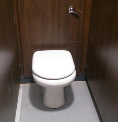 Communal bathroom installation