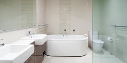 New bathroom installations